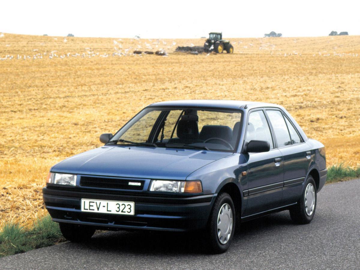 mazda 323 1988 года 1,5 универсал отзывы