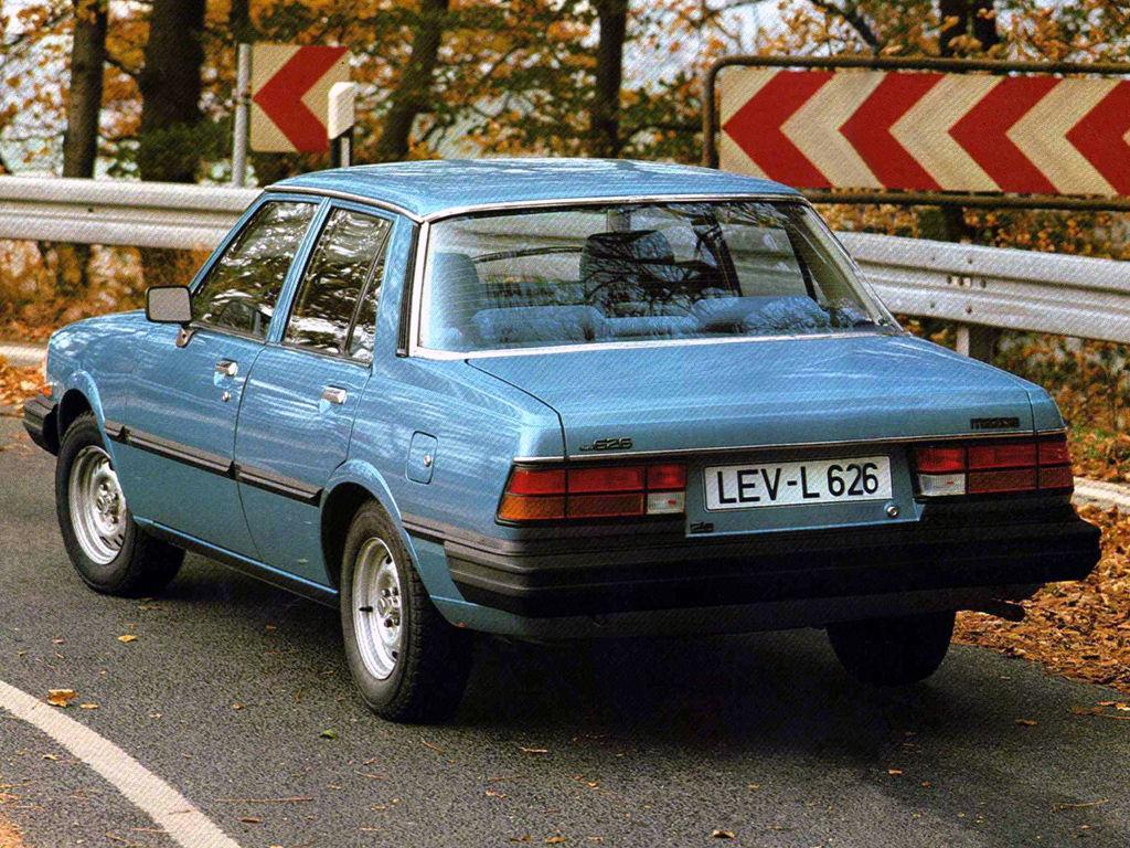 mazda 626 1986 glx технические характеристики
